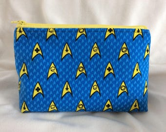 Star Trek Cosmetic Makeup Bag