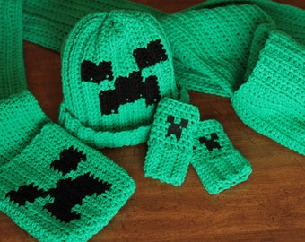 Minecraft Creeper Crochet Pattern Pack