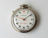 westclox wind up vintage stopwatch works made in the USA