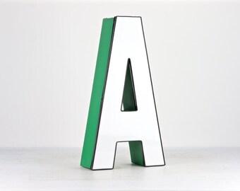 Metal Letters Vintage, Large Metal Letters, Metal Wall Letters, Metal Letter Decor, Metal Letter A, Old Metal Letters, Wall Letters, Letters