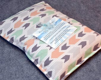 Microwave Heating Pad, Large Corn Bag, Microwave Heat Pack, Bed Warmer, Corn Heated Bag, Muscle Relief  -- Large 10x14 -- Come Along