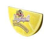 Leinenkugels Beer Advertisement Sign Lemon Shaped Large Beer Sign Summer Shandy