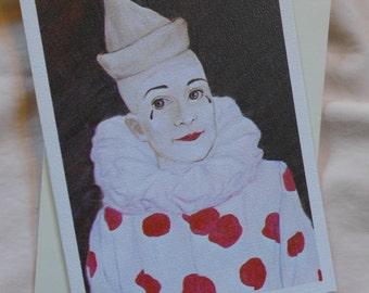 Somber Clown / Jean St. Laurent