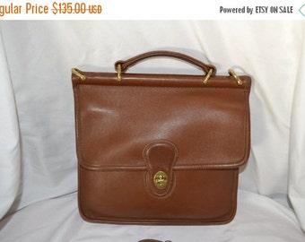 Savings For You Vintage Coach~Coach Bag~ Coach Willis  9927 British Tan~ Coach ~Brass Hardware Fits Ipad Perfect Hangtag
