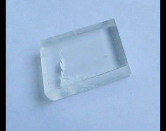 NEW !! Calcite Gemstone Cabochon,26x17x5mm,6g