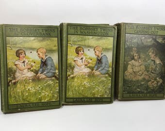bobbsey twins book set children's vintage stories