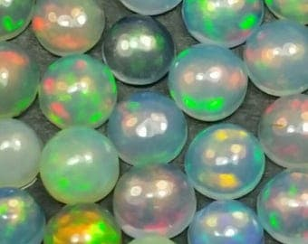 2 round 4mm round Welo Ethiopian opal AAA grade available in multiples