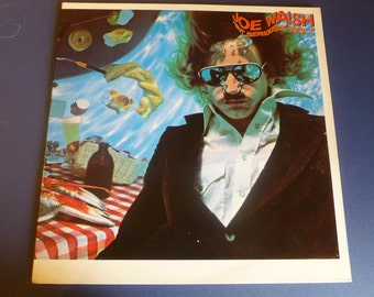 Joe Walsh But Seriously Folks Vinyl Record 6E-141  1978