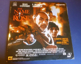 The Name Of The Rose LaserVideoDisc 1986