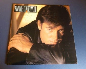 Ronnie McDowell I'm Still Missing You Vinyl Record LP CRB-10602 Curb Records 1988