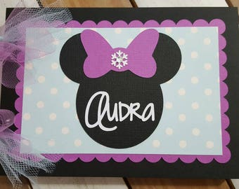 Personalized Disney Autograph Book Inspired by Frozen