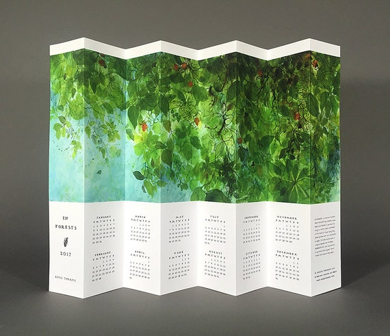 2017 In Forests Calendar