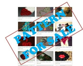 Pattern ONLY - Willy Warmer Peter Heater Adult Novelty Item - Make your own