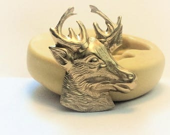 Deer Head flexible silicone mold
