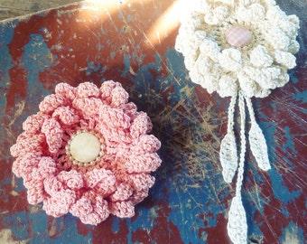 Crochet Flower Pattern PDF - Peony easy, beginner  crochet pattern - Instant DOWNLOAD