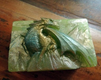 Dragon Soap, King of the Dragons, GOT Soap, Reptilian Soap, Animal Soap, Party Favor, Mythical Novelty Soap, Custom Scented