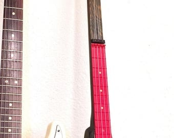 Vintage 60s Electric Kook-a-lay-lee Ukulele Surf Ukelele Uke almost 4 feet long polk a lay lee swaggerty