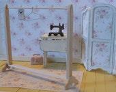 Dollhouse  Miniature Dress Rack