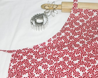 Peppermint Candies Adult Apron