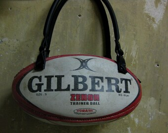 Rugby ball purse