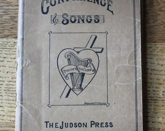 1927 Conference Songs by Judson Press, Philadelphia