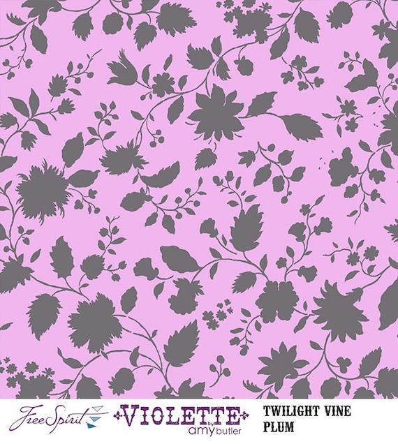 Twilight Vine - PLUM - PER 25CM - Amy Butler - VIOLETTE - PWAB143 ... : plum vine quilt - Adamdwight.com