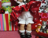"Fits 8"" Ginny Vogue Doll .. White Bloomers ...D1102"