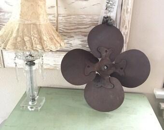 Vintage Old Fan Blade - Propeller