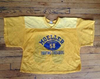 1980's Moeller Fighting Crusaders football jersey 58