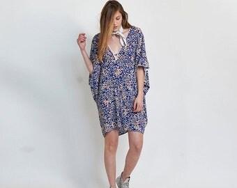 Pre Winter Sale 15% Lotus Dress, Blue
