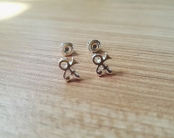Prince Symbol Ankt symbol earrings
