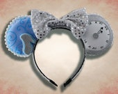 Slipper Princess Mouse Ear Headband with Bow