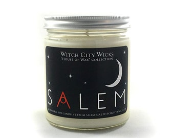 Soy candle, Salem, soy candles handmade, soy wax candle, scented soy candles, hand poured candles, ouija board candle, Salem candle