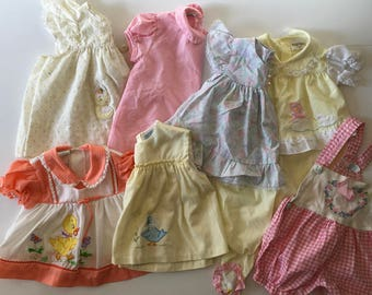 RESERVED Vintage Baby Girl Dress Lot (6/9 months)