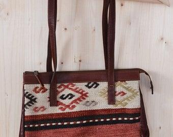 SALE Kilim Soulder Bag Vintage turkish bag