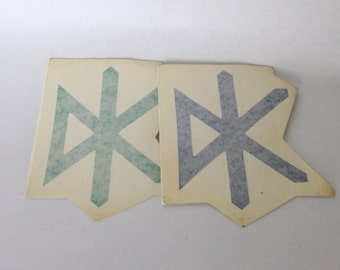 Vintage 1990s Dead Kennedys Decal Sticker