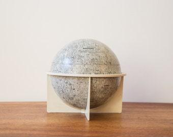 Vintage Retro Moon Globe