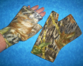 Recycled, upcycled, Lg, short, fleece, arm warmers.
