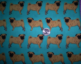 2.5 Yards Of Pug Cotton.