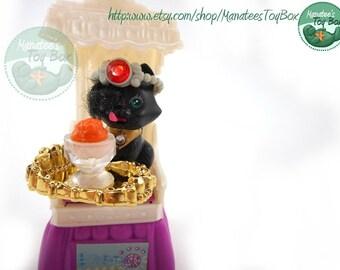 Vintage Littlest Pet Shop Royal Bombay Kitty Set 1994 Sparkling Pets