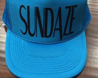 Sundaze Trucker Hat Women's Trucker Hat Women's Hats River Trucker Hats Vacation Hat