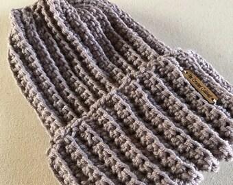 Parker Beanie, Crochet Ribbed Hat, Crochet Beanie, Slouchy Beanie