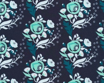 Vignette - Poppy Turquoise by Aneela Hoey from Cloud9 Fabrics