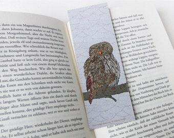 """Lesezeichen, Bookmark, """"Eule"""""""