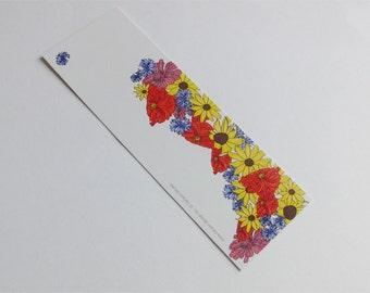 """Lesezeichen, Bookmark, """"Blumen"""""""