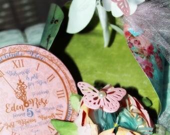"Cinderella's ""Papillion"" invitation Suite"