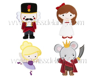 All Nutcracker Applique Designs