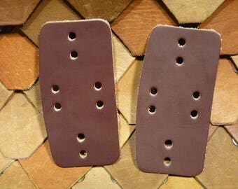 Burgandy with Tan sides Model 3 Overlay