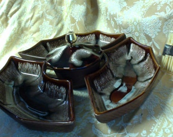 Vintage Sectional Centerpiece Serving Dish