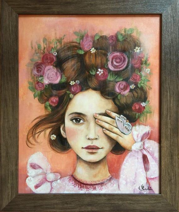 ORIGINAL art Janie